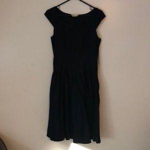 Kate spade navy blue dress size 0